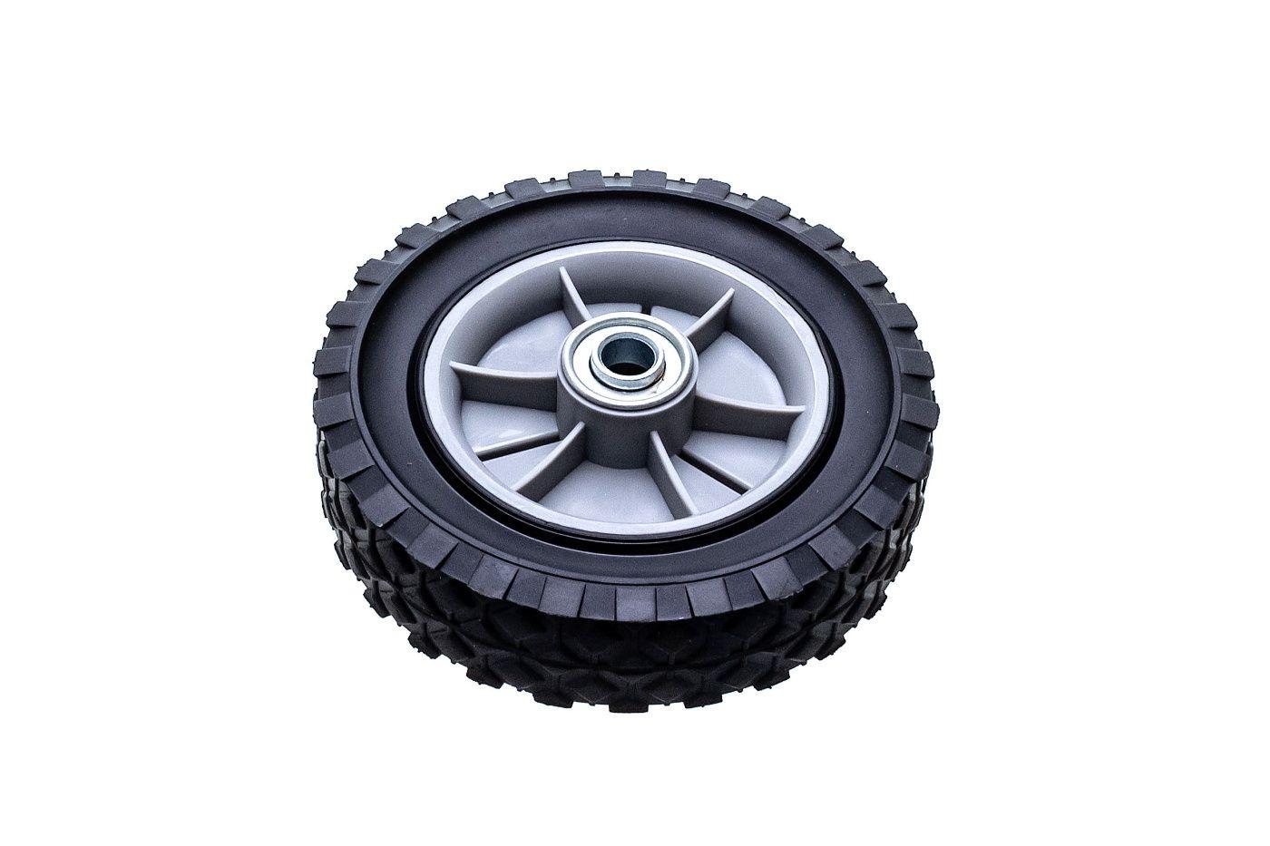 Univerzálne koleso 150mm - plastové + ložisko, gumená pneumatika