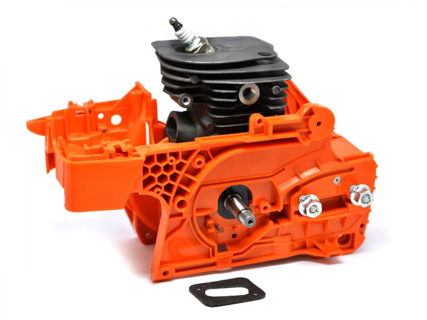 Polomotor Husqvarna 345 + kľuková skriňa