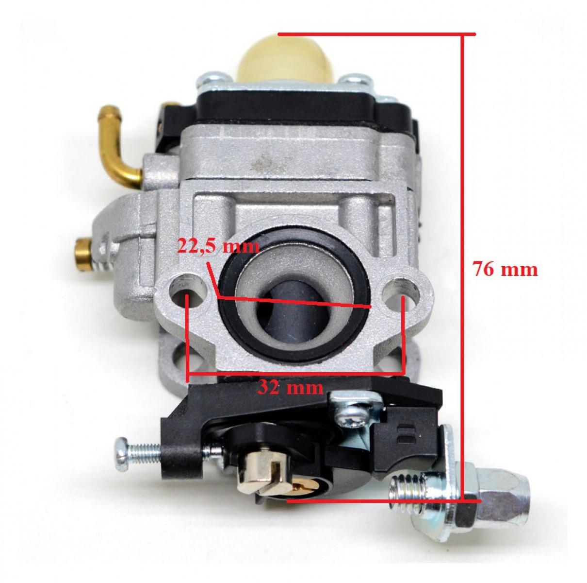 Karburátor AL-KO BC 4535 BC 4125 BC410 TYP 3
