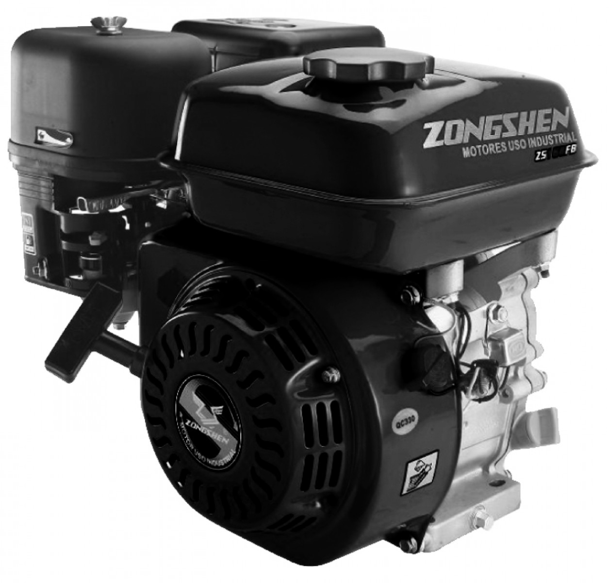 Motor ZONGSHEN 168FB 196cc 6,5 HŘÍDEL 19mm