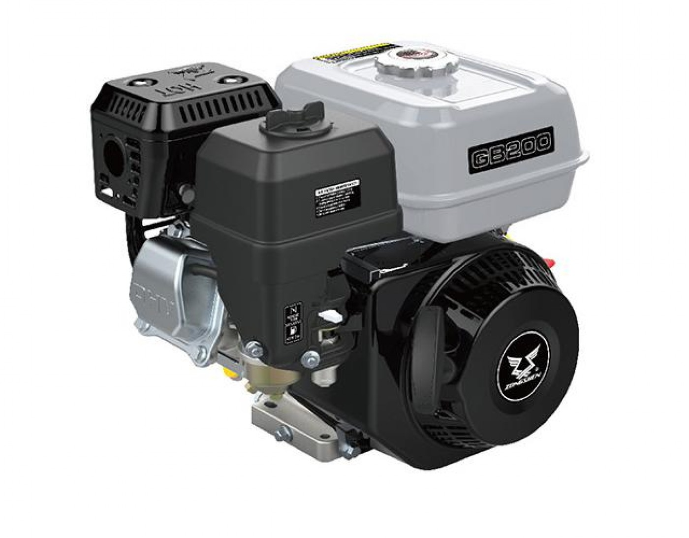 Motor ZONGSHEN GB200 196cc 6,5 HŘÍDEL 20mm