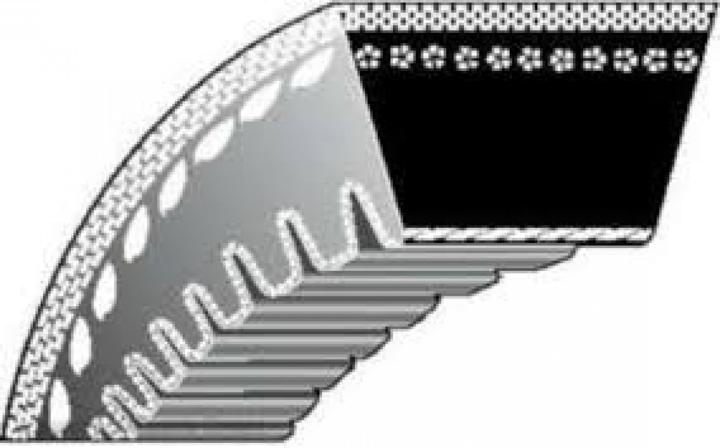 Klinový remeň Dĺžka: 89 cm MTD 754-04050