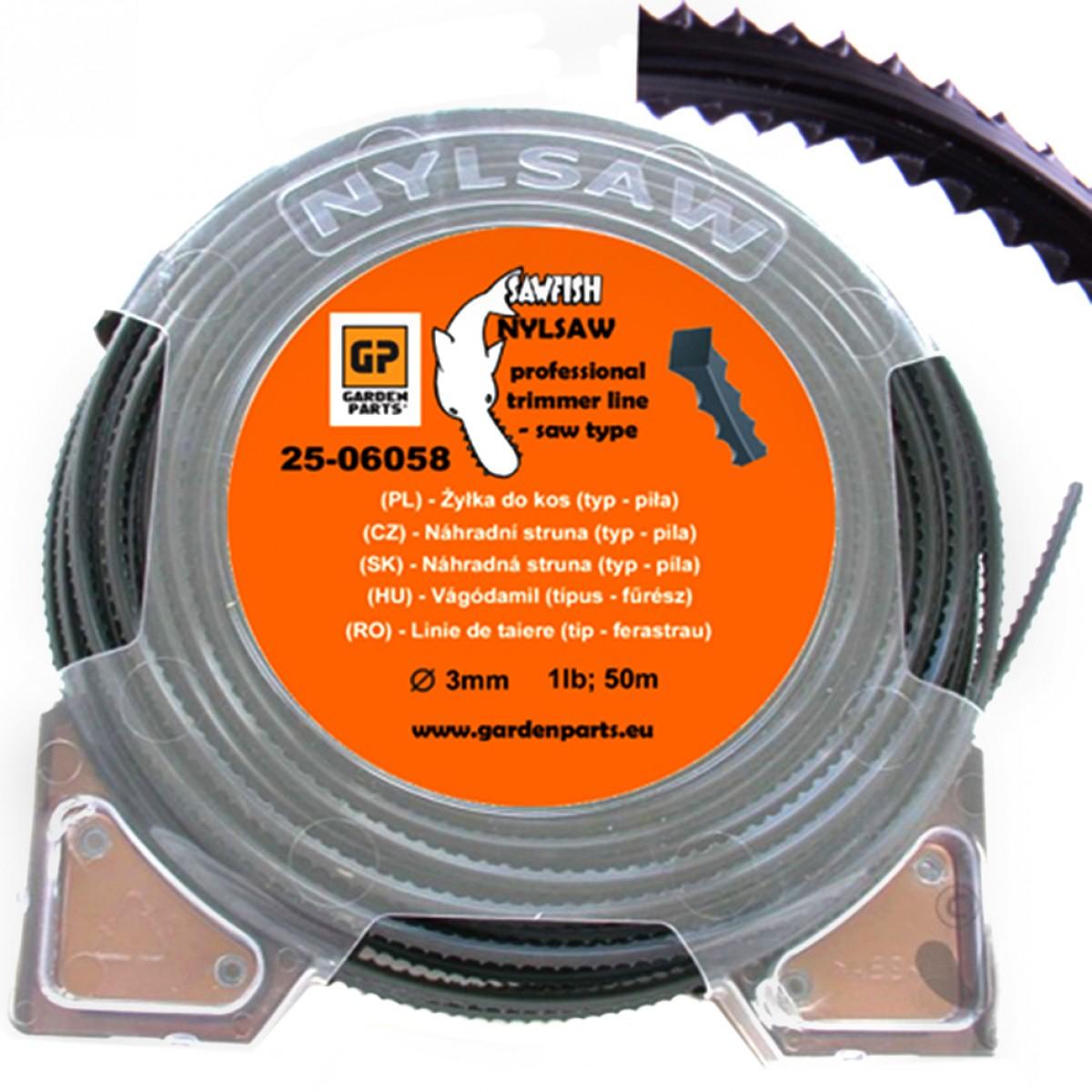 Náhradná struna - SAW LINE 3,0mm 50m