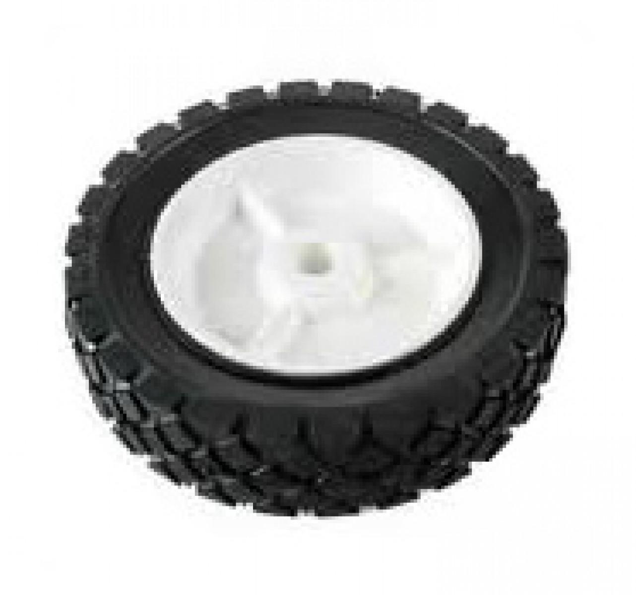 Univerzálne koleso 150mm - plastové ložisko, gumená pneumatika