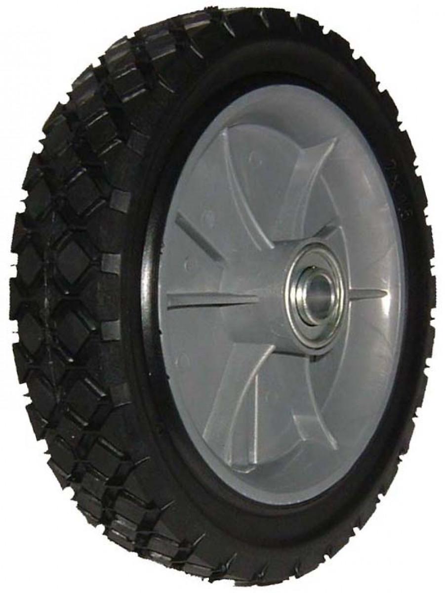 Univerzálne koleso 200mm - plastové ložisko, gumená pneumatika