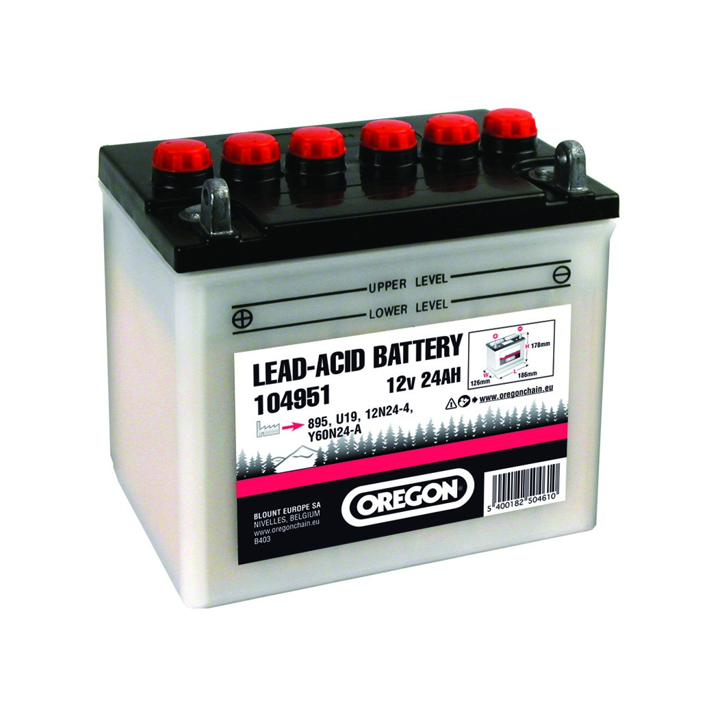 Baterie 12v 24AH (186x125x176) 12N24-4