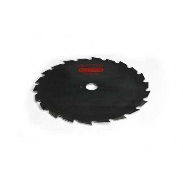 Ocelový nůž pro křovinořezy Maxi - 24-zubý x 225mm x 1,8mm, montáž 25,4mm