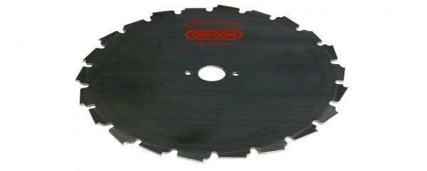 Ocelový nůž pro křovinořezy EIA - 24- zubý x 225mm x 1,8mm, montáž 25,4mm