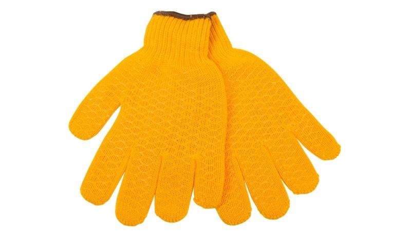 Žluté pracovní rukavice