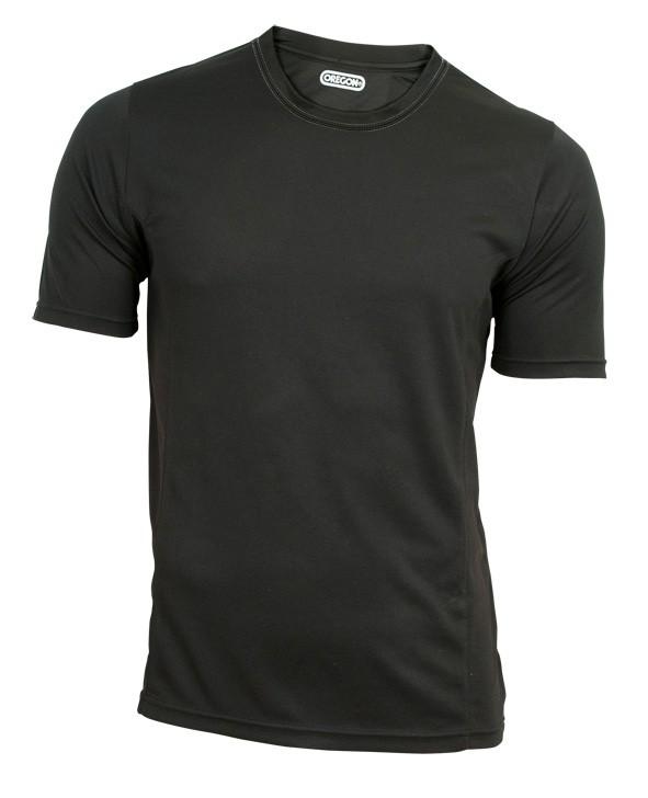 Funkční triko černé - krátký rukáv