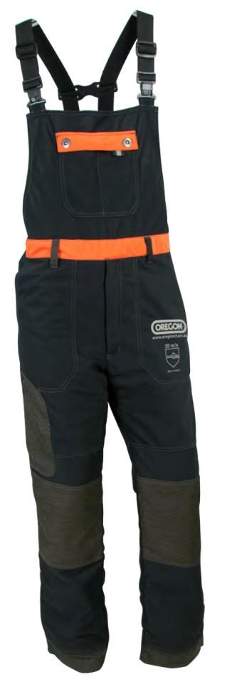 Protipořezové kalhoty s laclem Waipoua - DOPRODEJ