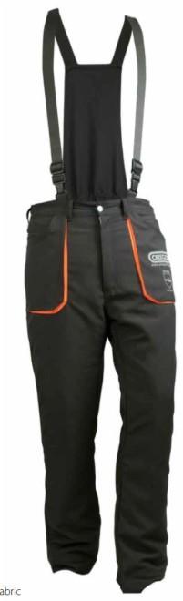 Protipořezové kalhoty se zadním laclem YUKON