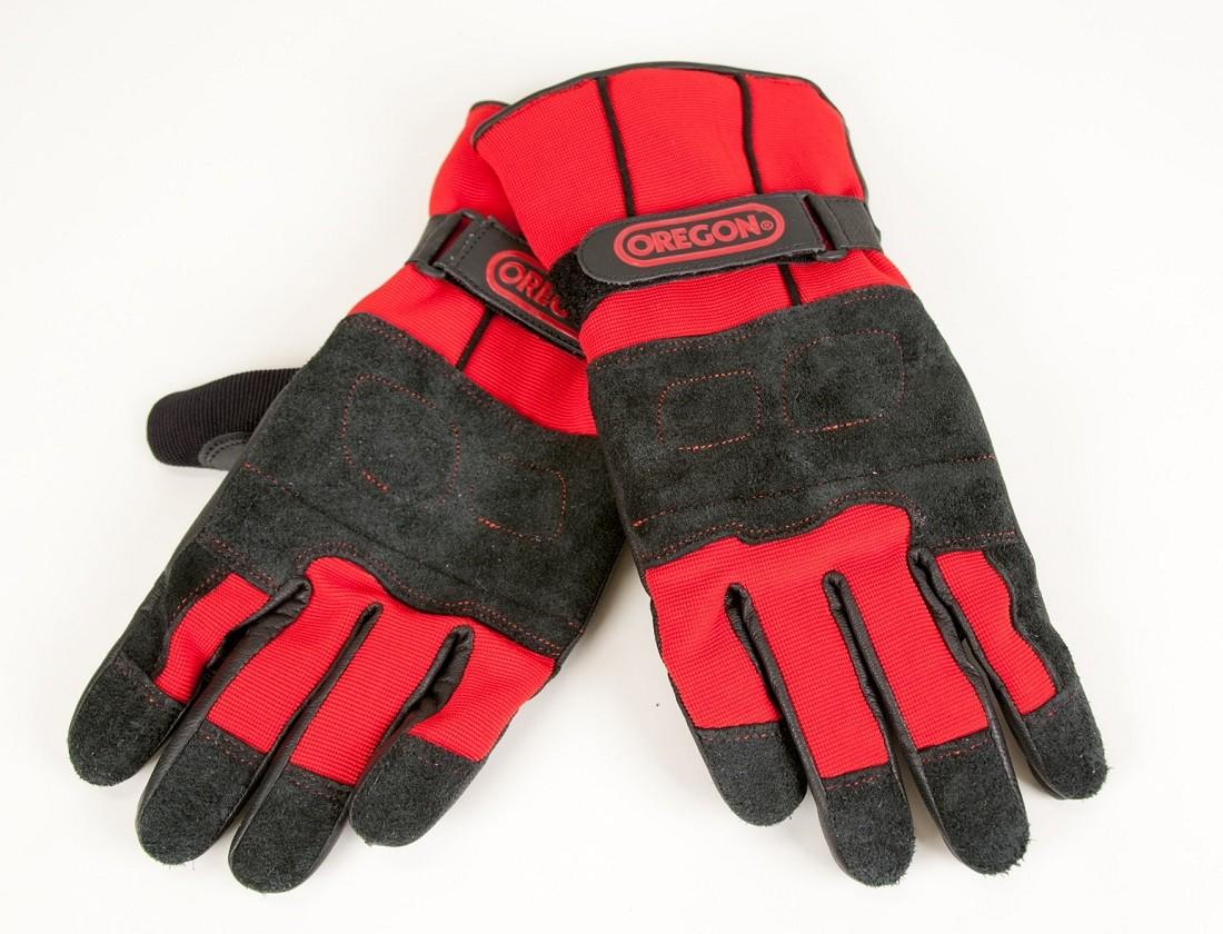 Protipořezové zimní kožené rukavice Fiordland