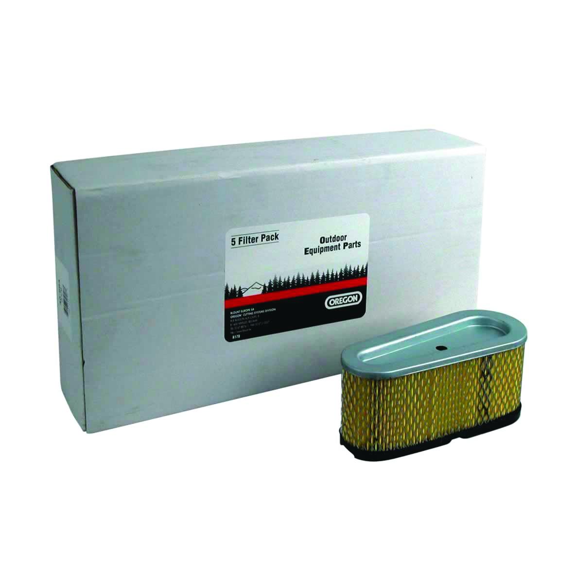 Vzduchový filtr do sekaček s motorem B&S 12+12,5KM YT150 (5 ks.)