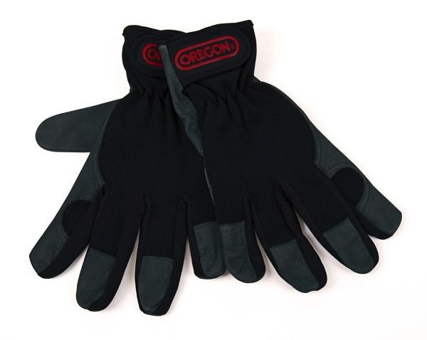 Pracovní rukavice, kůže a čtyřcestný streč