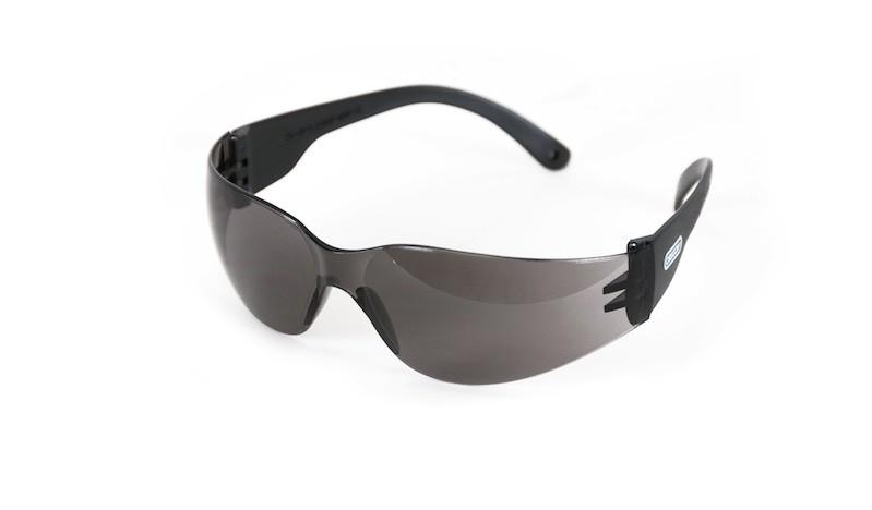 Polykarbonátové ochranné brýle - černé (moderní design)