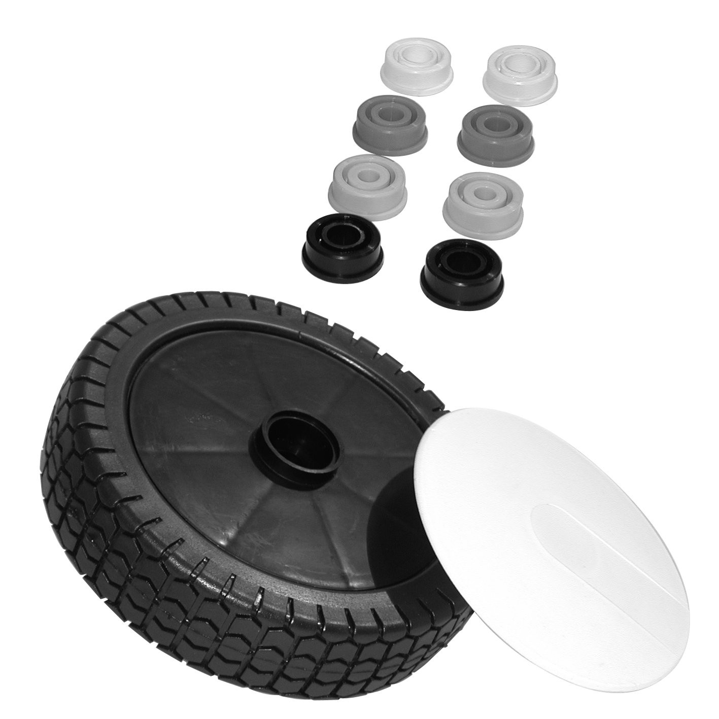 Univerzální plastové kolo pro sekačky, Turf 72-601