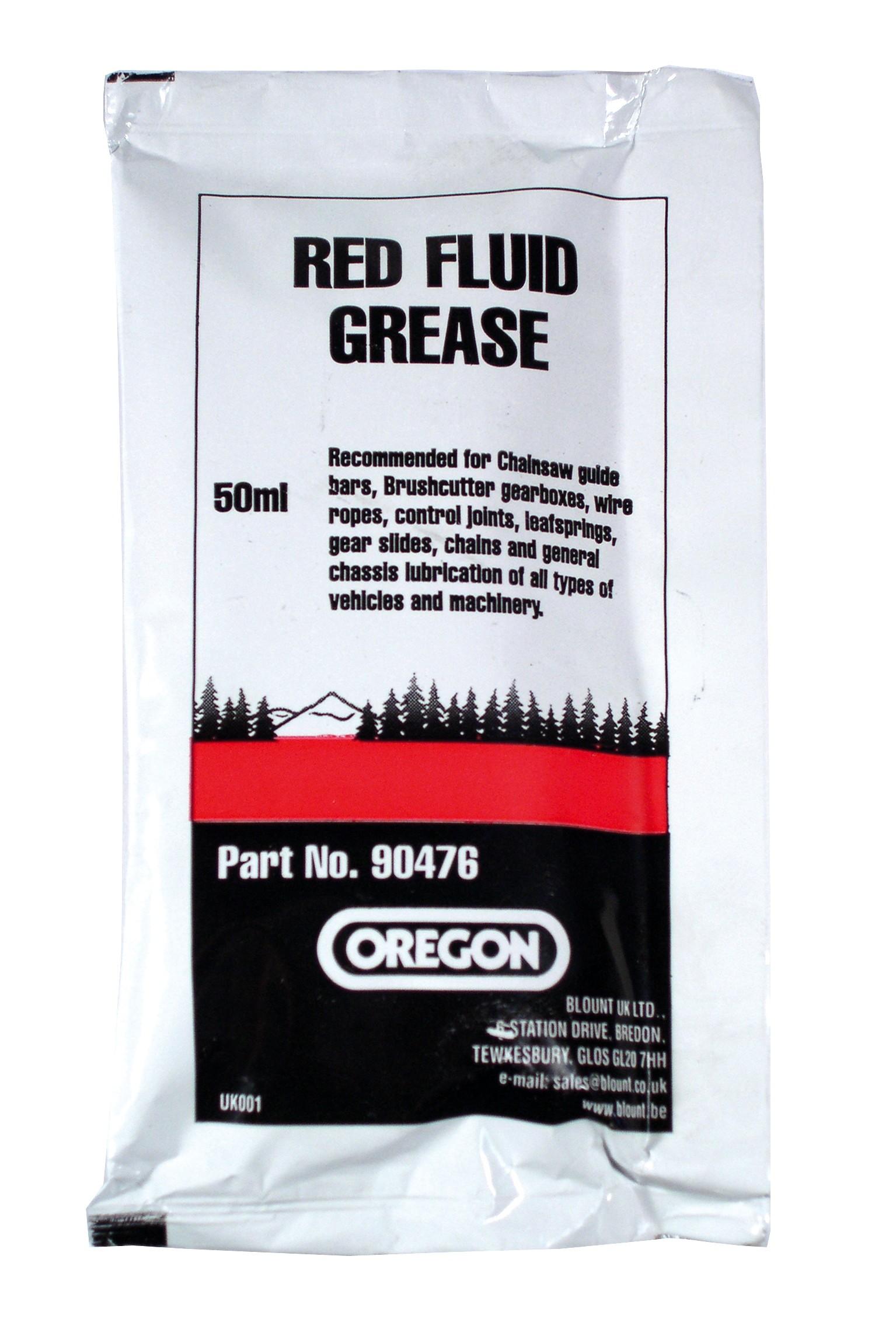 Mazací tuk červený 50ml - vodící lišty