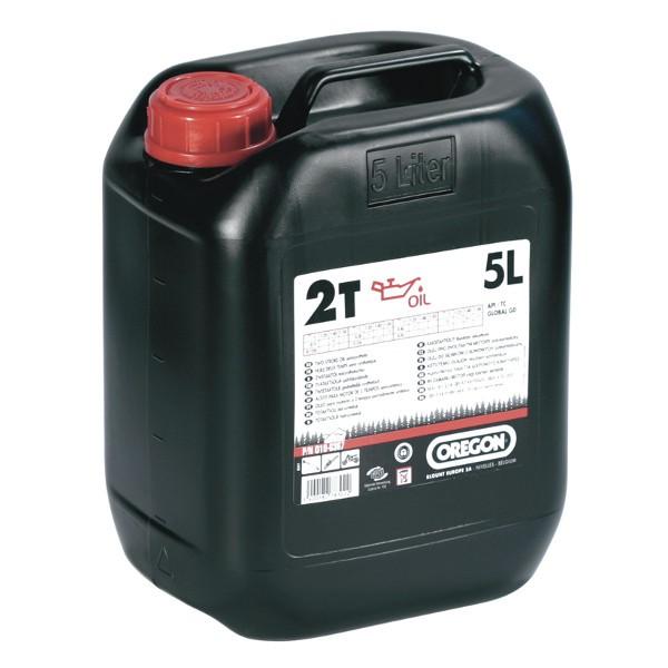 Olej pro 2T motory 5L - zelený