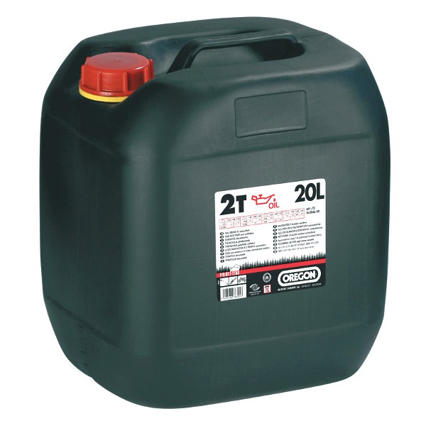 Olej pro 2T motory 20L - červený
