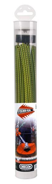Žací struna žluté Techni-Blade 6,0mm x 26cm x 50ks.