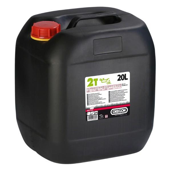 Olej pro 2T motory 20L - zelený