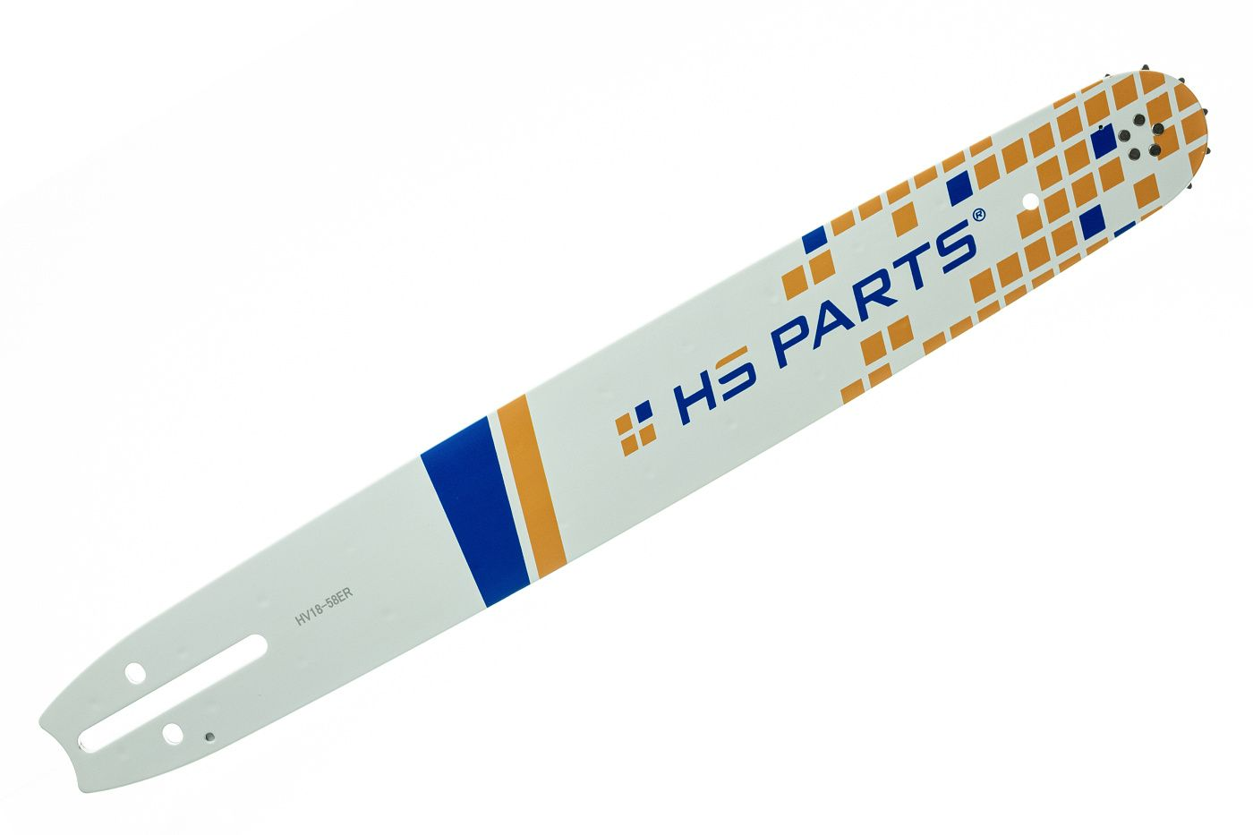 "HS PARTS Vodiaca líšta 18"" (45cm) .3/8"" .058"" (1,5mm) 68 čl."