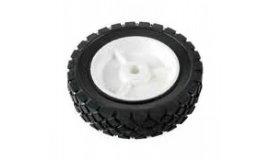 Univerzálne koleso 175mm - plastové ložisko, gumená pneumatika