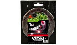 Žací struna DUOLINE PLUS - bezhlučné 2,4mm x 15m