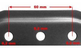 Nôž elektrických kosačiek Bosch Rotak 32cm Žacie