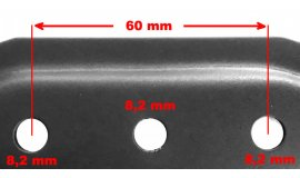 Nôž elektrických kosačiek Bosch Rotak 40,0cm So zberom