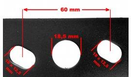 Nôž motorových kosačiek NAC WR65601 54,2cm