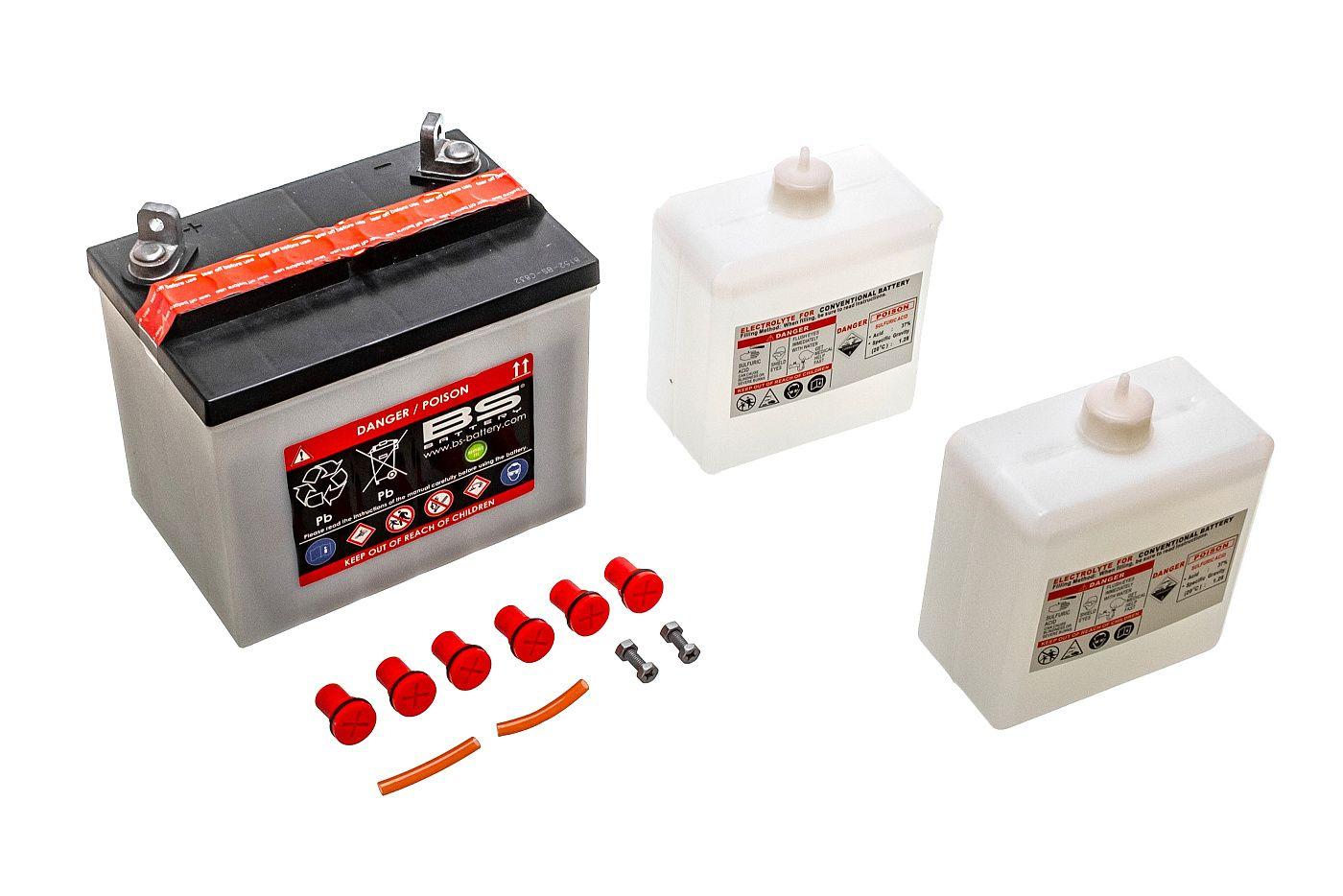 Akumulátor s kyslým elektrolytom 12V 24Ah PRAVÝ PLUS