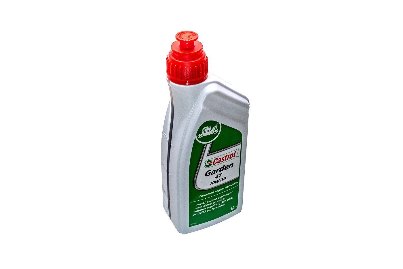 Motorový olej CASTROL Garden 4T 10W-30 - 1L (SAE 10W-30, API SH, SJ / CD, CF)