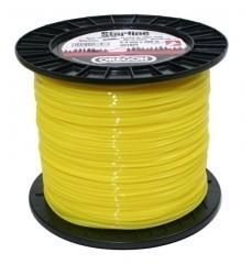 Žací struna 2,0 x 520m - ŽLUTÁ KULATÁ