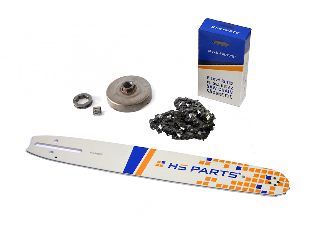 "HS PARTS Vodiaca líšta 16""(40cm) + reťaz .3/8"" 1,5mm 60čl. + ozubenie Husqvarna 365"