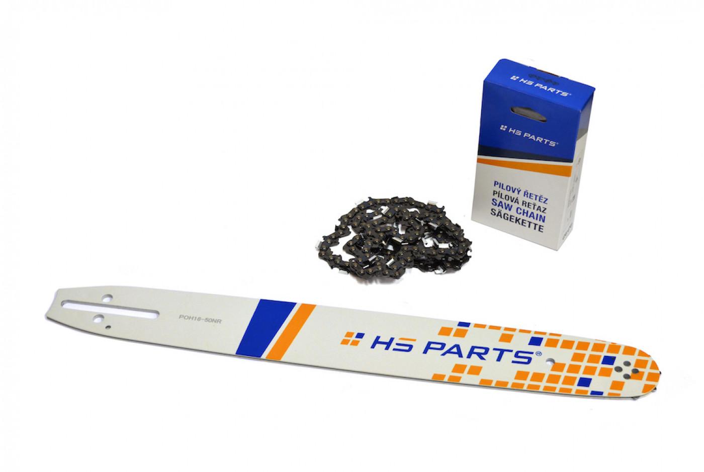 Lišta 40cm + 2x reťaz 56 čl. 3/8 1,3mm + Ozubenie Partner 350 351 370 390 420
