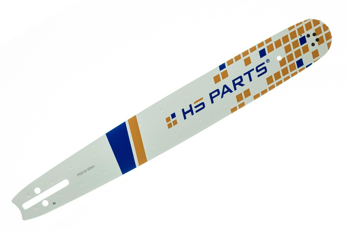 "HS PARTS Vodiaca líšta 18"" (45 cm) .325"" .050"" (1,3 mm) 72 čl."