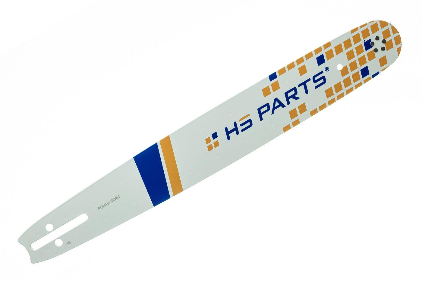 "HS PARTS Vodiaca líšta 18"" (45 cm) .325"" .058"" (1,5 mm)? 72 čl."