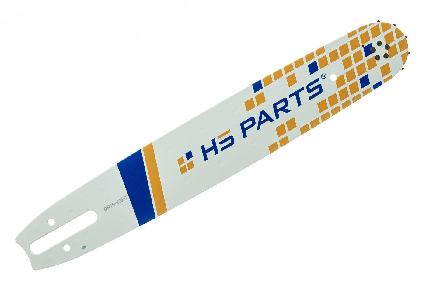"HS PARTS Vodiaca líšta 15"" (38 cm) 3/8"" .063"" (1,6 mm) 56 čl."